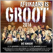Afrikaans is Groot 2016 - Various (2CD)