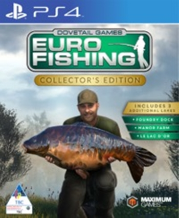 Euro Fishing Sim - Collector's Edition - PS4