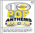 cdbsp 3281 - 10 Years of Pop Anthems 2002 - 2012 - Various (2CD)