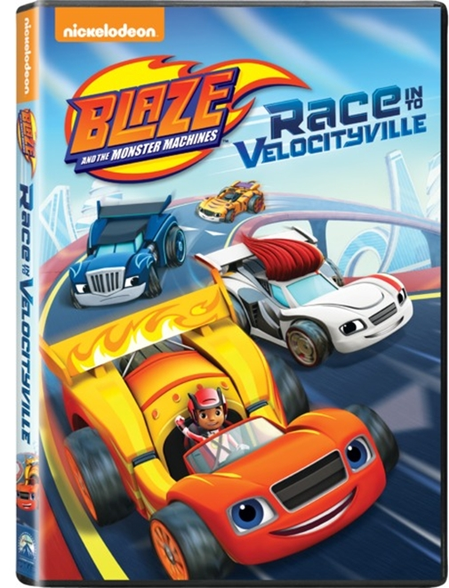 6009707518126 - Blaze & the Monster Machines - Race Into Velocityville