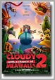 B1397 DVDS - Cloudy With a Chance of Meatballs 2