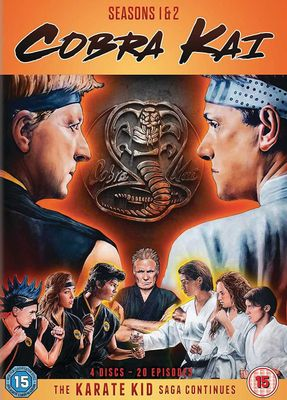 5035822799738 - Cobra Kai - Season 1 & 2