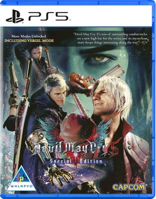 5055060952603 - Devil May Cry 5: Special Edition - PS5